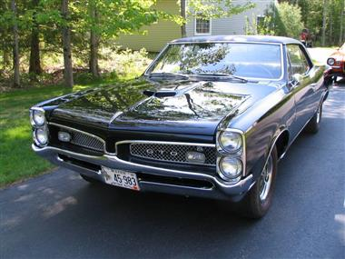 1967 pontiac gto in eliot me for sale 45 000. Black Bedroom Furniture Sets. Home Design Ideas