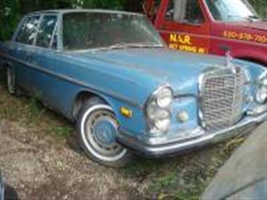 1969 mercedes benz 280s in naperville il for sale 3 200 for Mercedes benz of naperville il