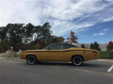 1973 plymouth duster in pasadena md for sale 14 000. Black Bedroom Furniture Sets. Home Design Ideas