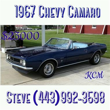 1967 chevrolet camaro in stewartstown pa for sale 23 000. Black Bedroom Furniture Sets. Home Design Ideas